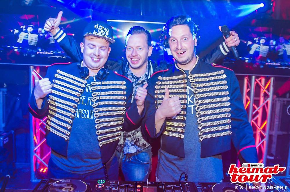 DJ René Baatzsch und die Klangakrobaten Sputnik-Heimattour