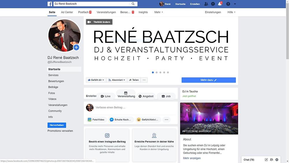 dj rene baatzsch im facebook