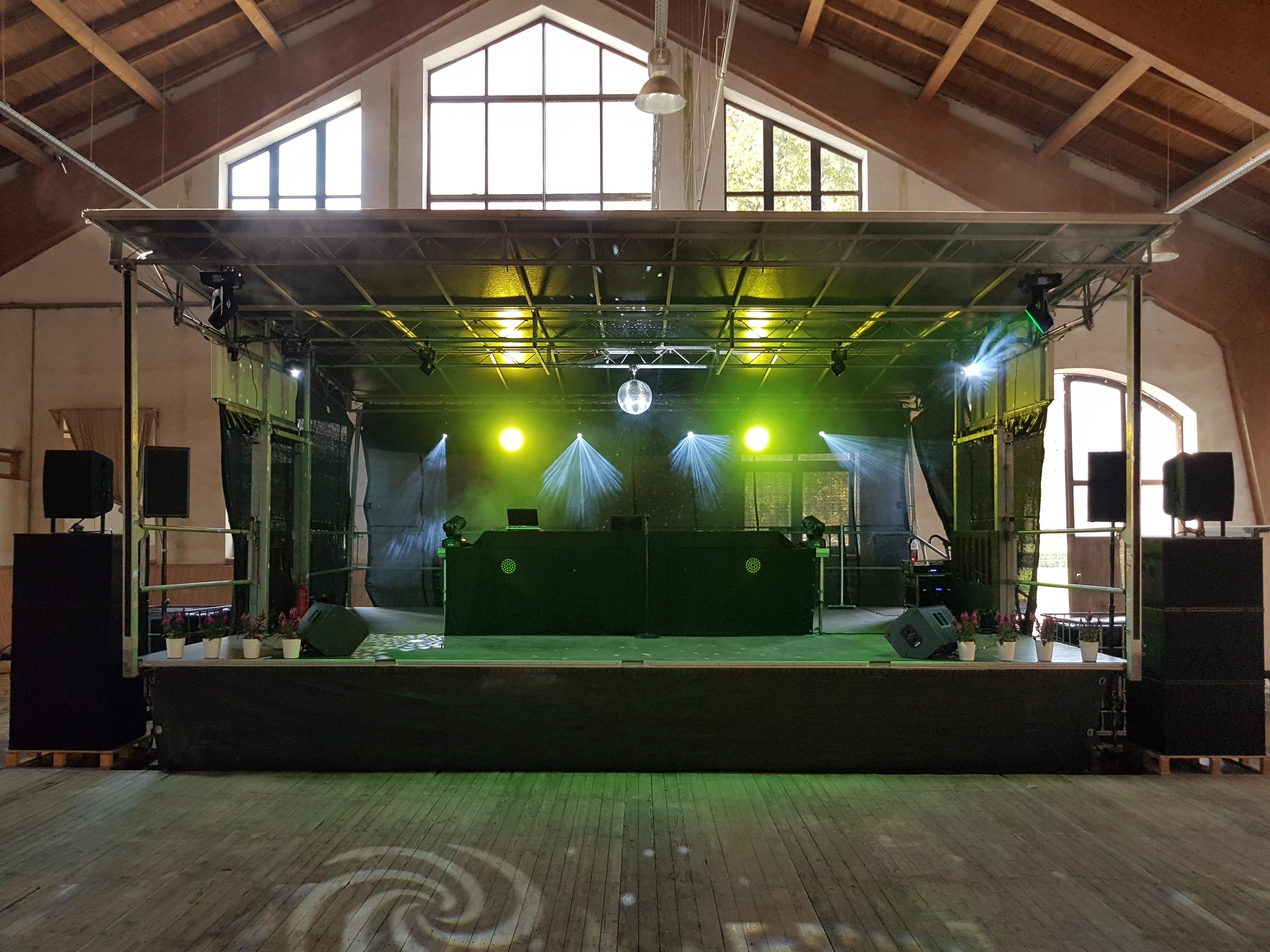 Bühne und Technik