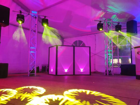 DJ Technik für eine Firmenfeier in Leipzig