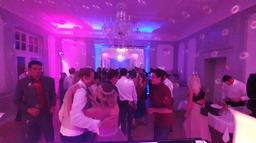 Hochzeitsfeier auf dem Schloss Teutschenthal