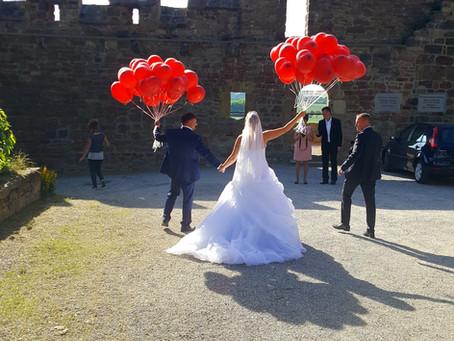 Hochzeit auf der Burg Schönburg b. Weißenfels und Naumburg