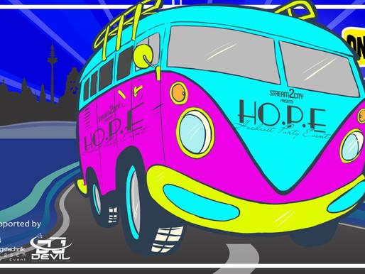 Stream2City presents HO.P.E - DJ René Baatzsch & DJ Devil
