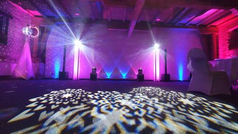 Hochzeits DJ Technik im Schloss Schkopau
