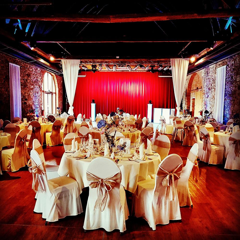 Hochzeit in der Kulturscheune im Hotel Kloster Nimbschen Grimma