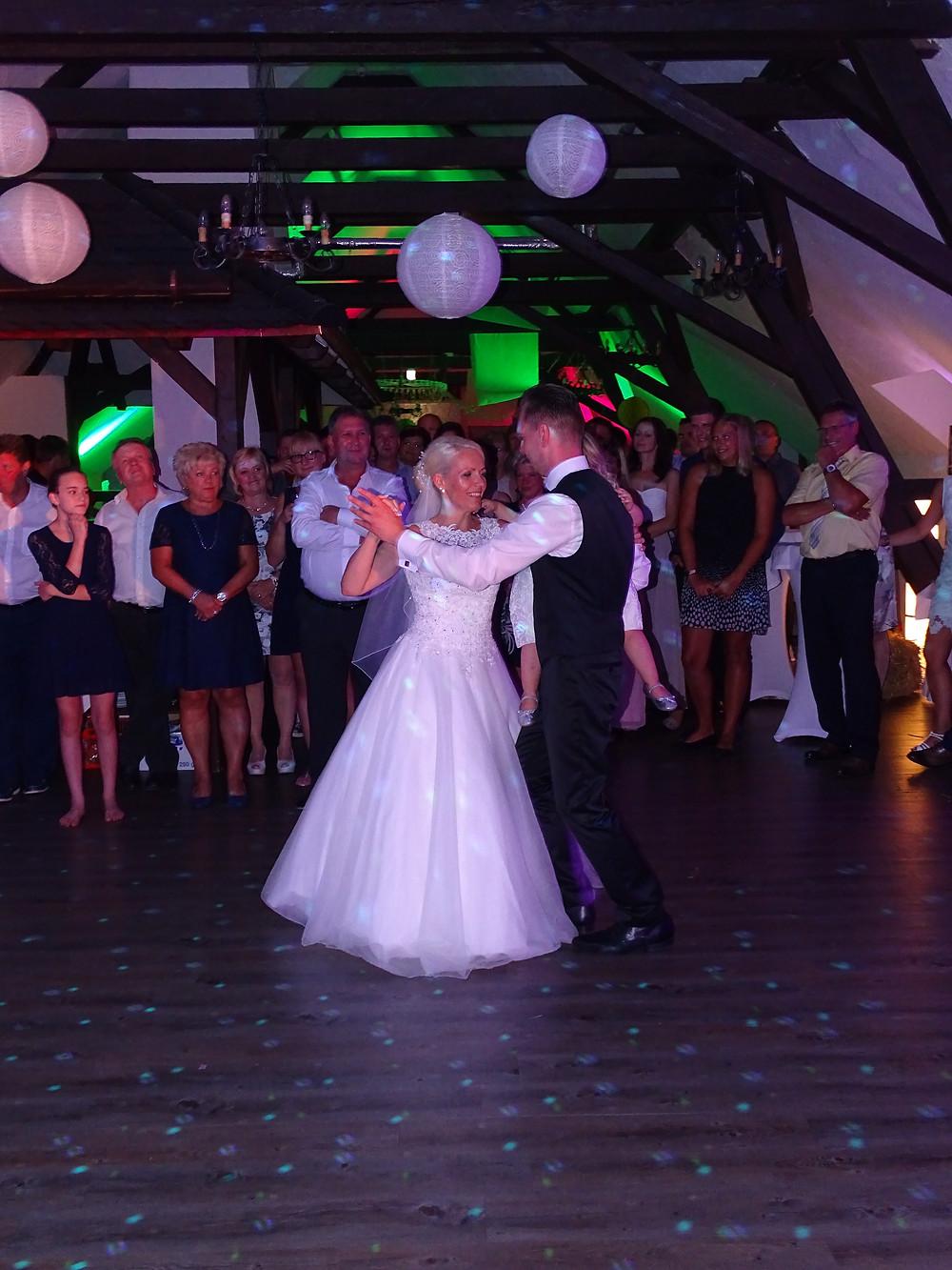 Hochzeitstanz in Taucha Landgasthof