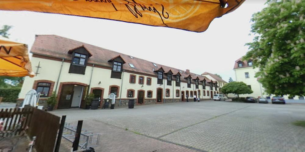 Hofansicht Landgasthof Gut Graßdorf - Taucha