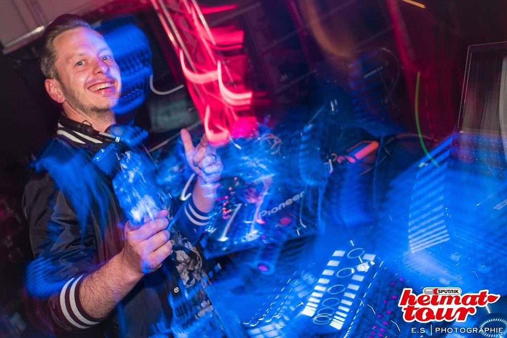 DJ René bei der Sputnik Heimattour 2017