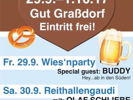 OKTOBERFEST 2017 Gut Grassdorf in Taucha bei Leipzig