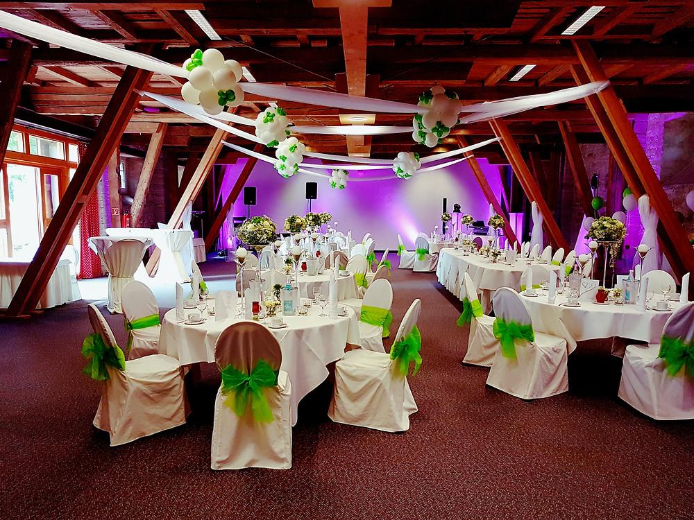 Hochzeit im Schlosshotel Schkopau