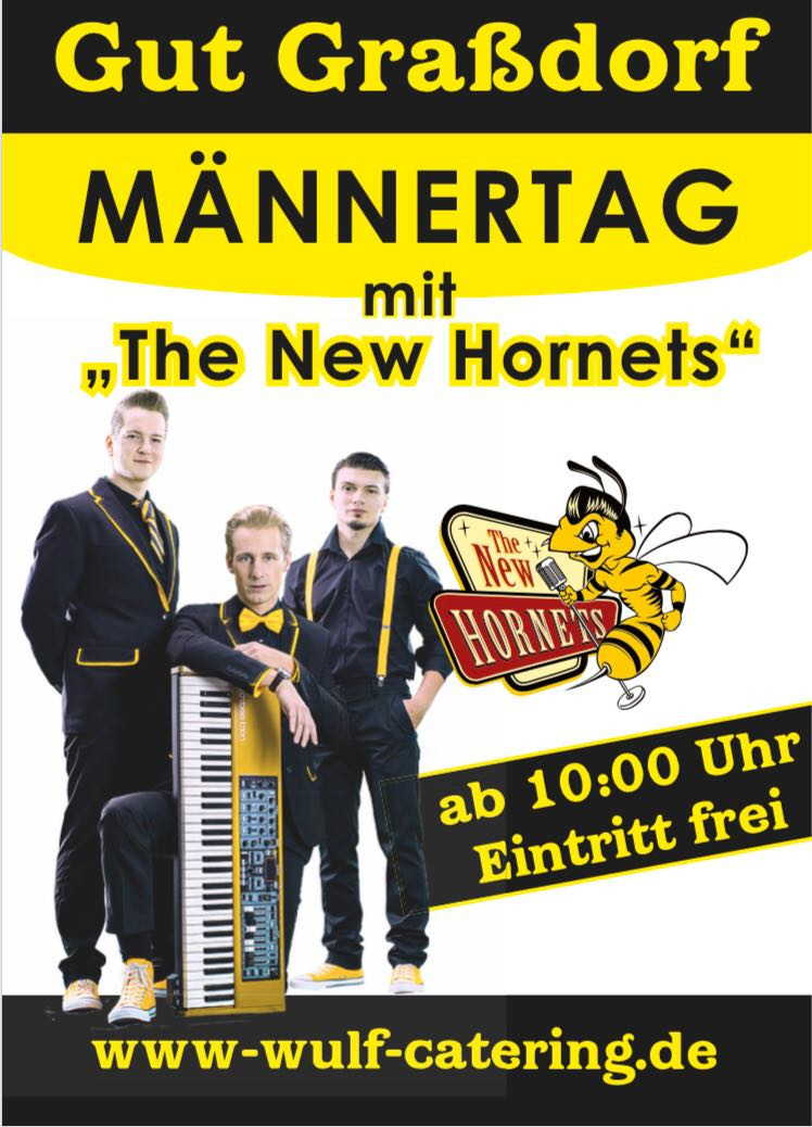 Männertag 2018 in Taucha - Gut Graßdorf - The New Hornets