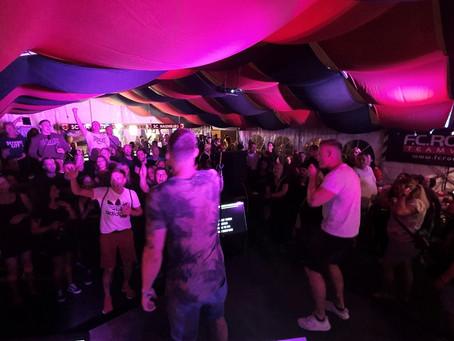 Karaoke-Party beim Hussiten-Kirschfest 2020 in Naumburg