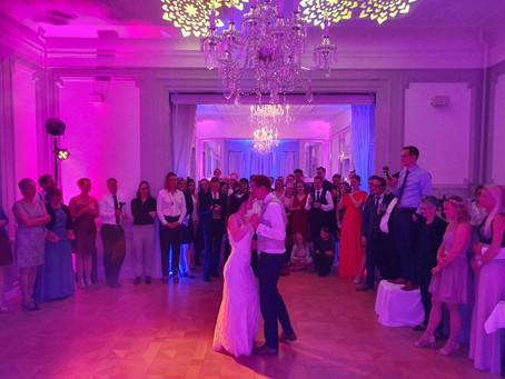 DJ in Teutschenthal - Hochzeit von Laura & Steffen im Schlosshotel