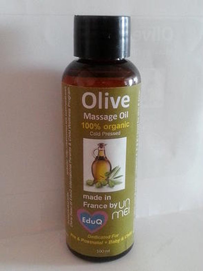 EduQ Baby & Children Organic Pure Olive Massage Oil 100ml