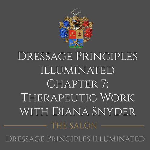 Dressage Principles Illuminated Chapter 7 with Diana Snyder
