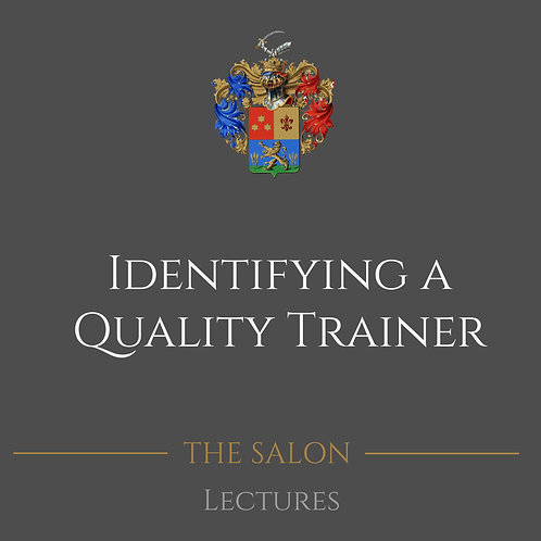 Identifying A Quality Trainer