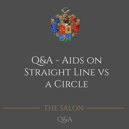 Q&A - Aids On Straight Line Vs. A Circle