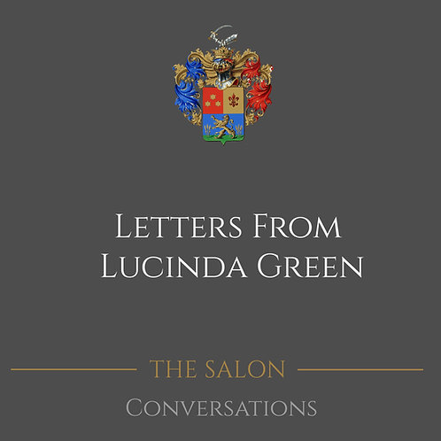 Letters From Lucinda Green