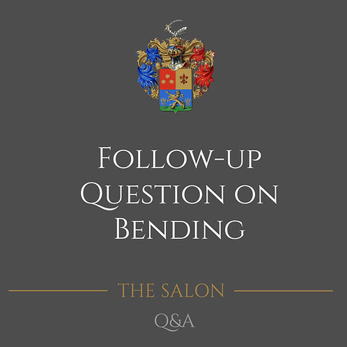 Follow-Up Question On Bending