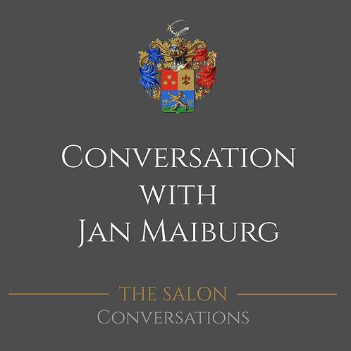 Conversation with Jan Maiburg