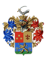 Charles de Kunffy family crest