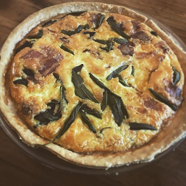 Homme-made Quiche