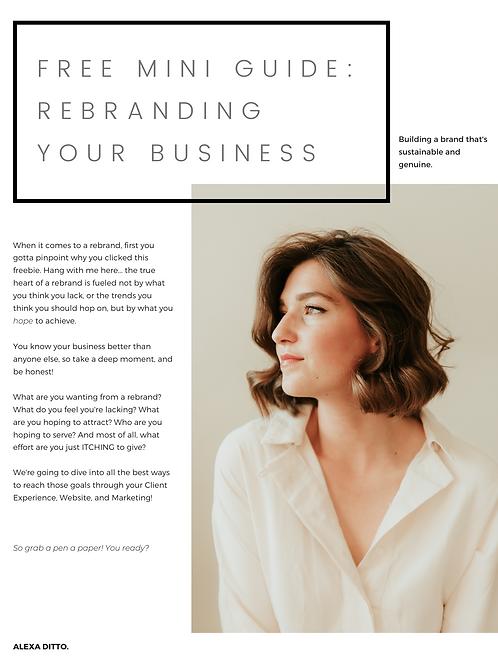 Rebranding Your Website!