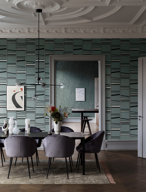 Styling by Sarah Widman | Photograph by Patrik Hagborg | Client Borastapeter
