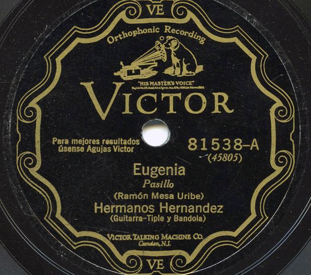 Un disco de Los Hernández