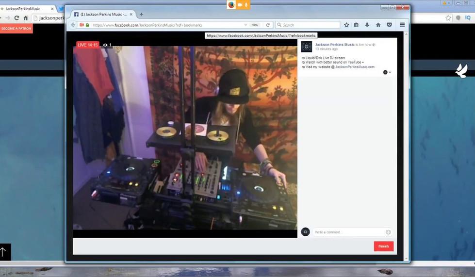 ₪ Uplifting Liquid/\Drum and Bass - Recorded Live DJ stream