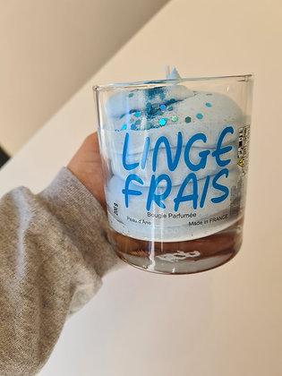 Bougie XXL Linge Frais - Sans Bijou