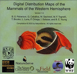 2003 Digital Distribution Maps of the Ma