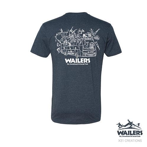 Wailers Ski Club - T-Shirt