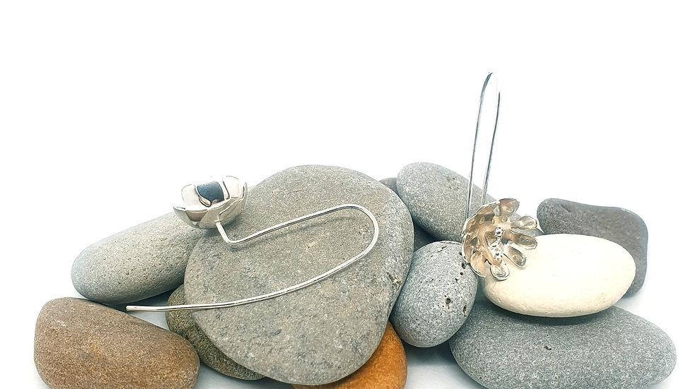 Cliff top flower earring threaders