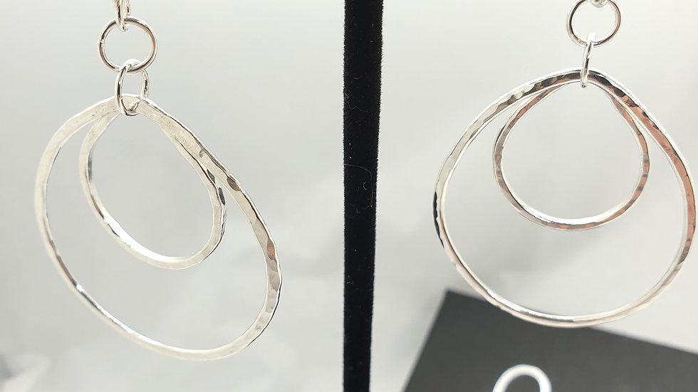 Lotus Peach Earrings