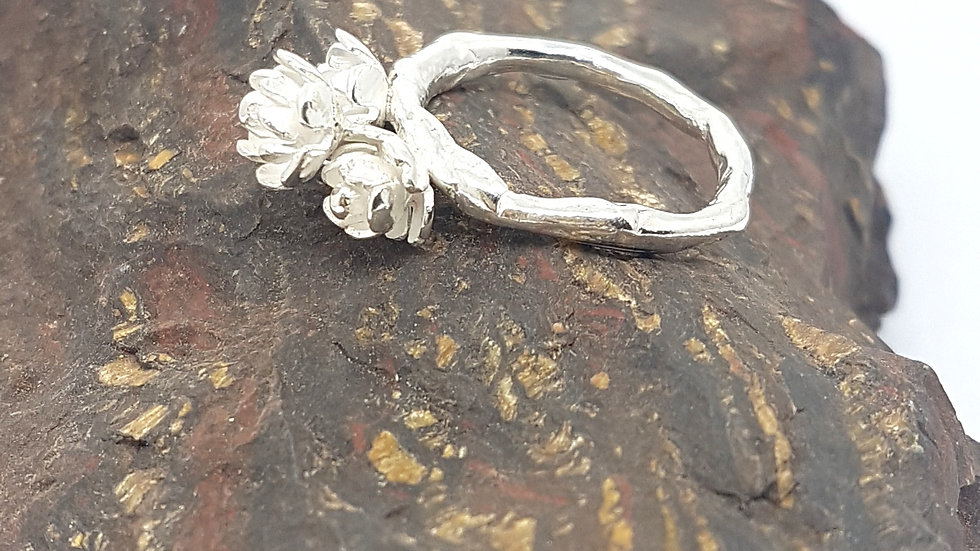 Fusion bouquet branch ring