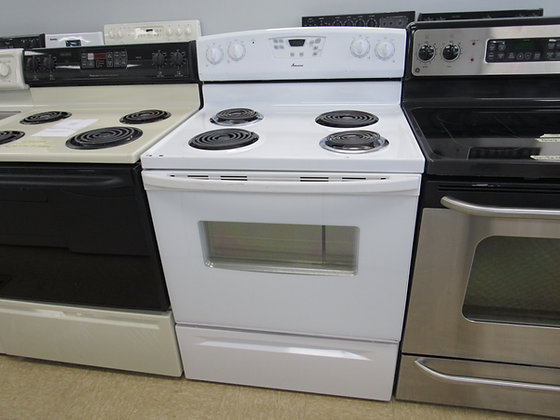 """Pre-Owned Amana 30""""W Electric Range"""