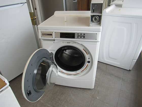 Pre-Owned Maytag Front Load Coin-Op Commercial Washing Machine