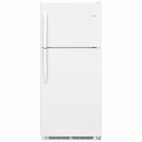 frigidaire 30 inch 21 cubic feet top freezer refrigerator sale