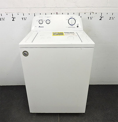 Pre-Owned Amana 3.5-cu ft High Efficiency Top-Load Washer - White