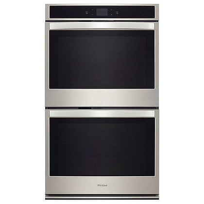 Pre-Owned Whirlpool 8.6 cu. ft. Smart Double Wall Oven with Touchscreen
