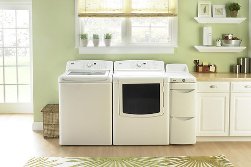 Simple Laundry Room Set Up _ Gigueres Ap