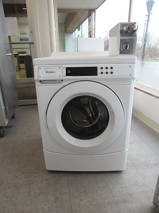 Pre-Owned Whirlpool Front Load Coin-Op Commercial Washing Machine