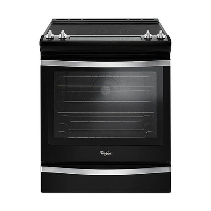 Pre-Owned Whirlpool 6.4 Cu. Ft. Slide-In Electric Range with Convection