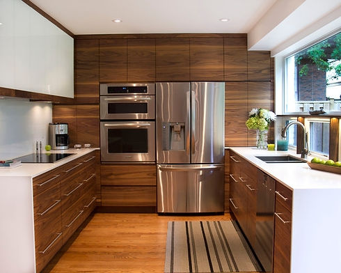 modern kitchen stainless steel appliance