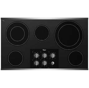 Whirlpool 36-inch Electric Ceramic Cooktop Appliance