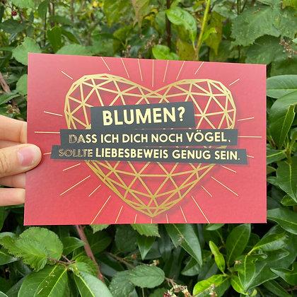 """FCK YOU CARDS - """"Blumen"""""""