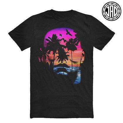 """Big Island Mike"" Shirt - schwarz/ bunt"