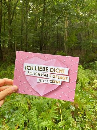 """FCK YOU CARDS - """"Liebe"""""""