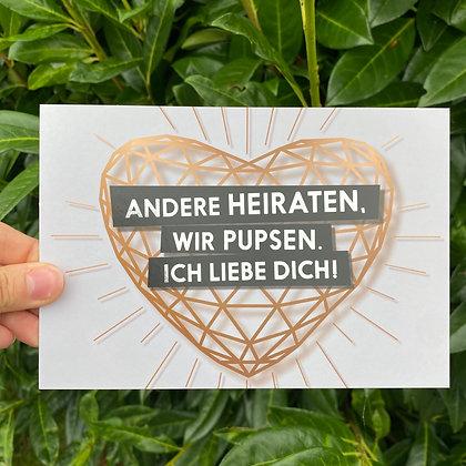 "FCK YOU CARDS - ""Pupsen"""